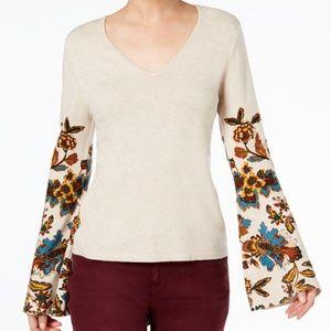 INC International Concepts Bell-Sleeve Sweater